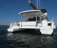 Catamaran Bali 4.5 for hire in Road Harbour