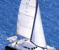 Catamaran Broadblue 435 for rent in Bodrum Marina Milta