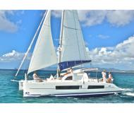 Cat Catana 42 for charter in Port Louis Marina