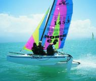 Catamaran Hobie Cat 15 for rent in Malcesine