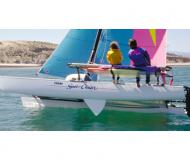 Catamaran Hobie Cat 21 for rent in Malcesine