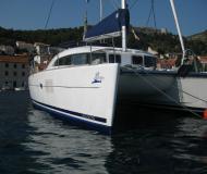 Cat Lagoon 380 for hire in Marina Dalmacija