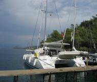 Cat Lagoon 380 available for charter in Bodrum