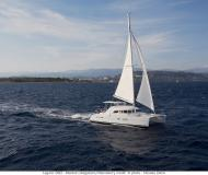 Catamaran Lagoon 380 available for charter in Port Louis Marina