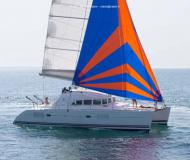 Cat Lagoon 380 S2 available for charter in Furnari
