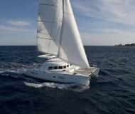 Cat Lagoon 380 S2 for charter in Goecek