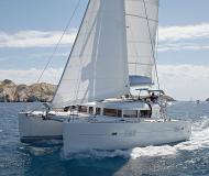 Catamaran Lagoon 400 for rent in Marina Anse Marcel
