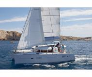 Catamaran Lagoon 400 available for charter in Marti Marina