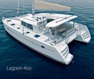 Catamaran Lagoon 400 available for charter in Fajardo