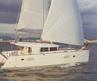Cat Lagoon 400 S2 for charter in Finikas Marina
