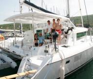 Kat Lagoon 420 in Krk - Yachtcharter Kroatien