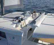 Catamaran Lagoon 450 for charter in Puerto Del Rey Marina