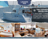 Catamaran Lagoon 450 available for charter in Rodney Bay Marina