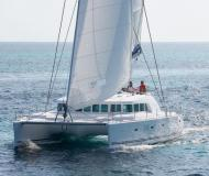 Catamaran Lagoon 500 available for charter in Tamarind Yacht Club