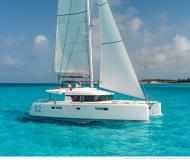 Catamaran Lagoon 52 for charter in Baie Sainte Anne
