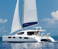Cat Leopard 46 available for charter in Tropea