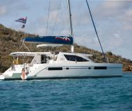 Cat Leopard 48 for charter in Tropea