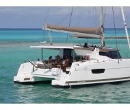 Catamaran Lucia 40 for hire in Marina Veruda