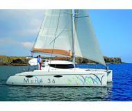 Catamaran Mahe 36 Evolution available for charter in Ece Saray Marina