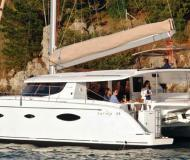 Kat Salina 48 Yachtcharter in Marina di Portisco