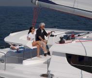 Katamaran Salina 48 chartern in Gouvia Marina