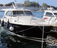 Motor boat Adriana 36 available for charter in Zadar