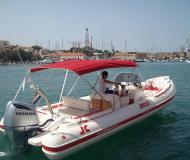 Motoryacht Clubman 26 Special Yachtcharter in ACI Marina Trogir