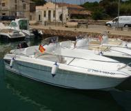 Motoryacht Flyer 500 open available for charter in Port de Mahon