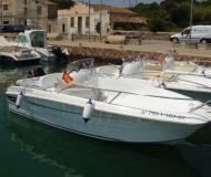 Flyer 500 open Motorboot Charter Spanien