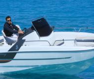 Motor boat Flyer 650 Sun Deck available for charter in Port Saint Cyprien