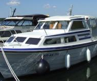 Motoryacht saga 27 AK available for charter in Fuerstenberg