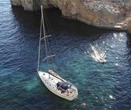 Sailing yacht Cyclades 43.4 for rent in Grand Harbour Marina