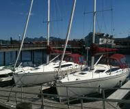 Segelyacht Delphia 33 Yachtcharter in Marinepollen Marina
