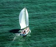 Sailing yacht Dufour 375 Grand Large for rent in Mariehamn