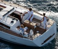 Segelboot Dufour 405 Grand Large Yachtcharter in Marina Port Louis