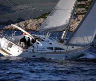Sailing yacht Elan 434 Impression available for charter in Marina di Punta Ala