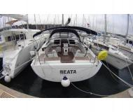 Sailing boat Hanse 455 available for charter in Pomer