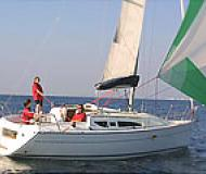 Sailing yacht Sun Odyssey 32 for rent in Genoa Harbour