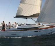 Sailing yacht Sun Odyssey 409 for hire in Marina Le Marin