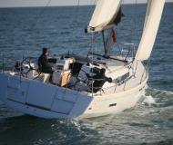 Yacht Sun Odyssey 439 available for charter in Marina San Antonio