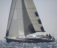Sail boat Sun Odyssey 439 for hire in Port of Skopelos