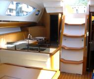 Sailing boat Sun Odyssey 45DS available for charter in Marigot Bay Marina