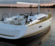 Segelboot Sun Odyssey 469 chartern in Port Pin Rolland