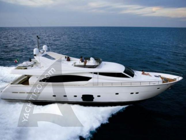 Yacht Ferretti 880 available for charter in Marina Punat