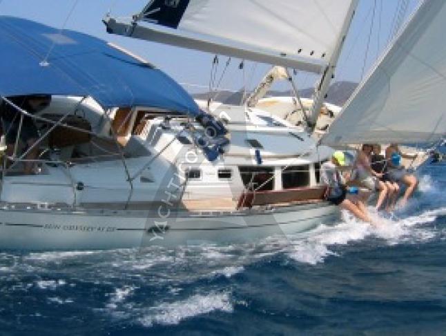 Sun Odyssey 43DS Segelyacht Charter Bodrum