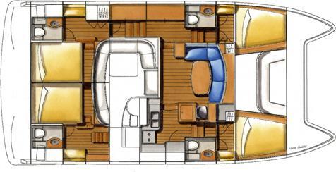 Catamaran Lagoon 44 Power for rent in Palma-68017-0