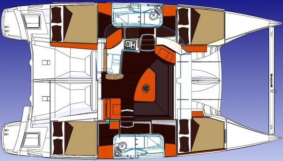 Catamaran Lipari 41 for rent in Le Marin-22532-0