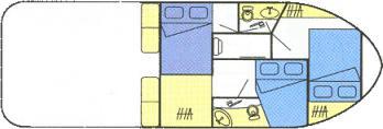 Houseboat NICOLS 1010 for charter in Evora-24932-0