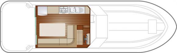 Hausboot NICOLS 1160 in Marina Luebz mieten-32844-0