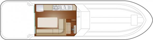 Houseboat NICOLS 1310 for charter in Bram-24713-0
